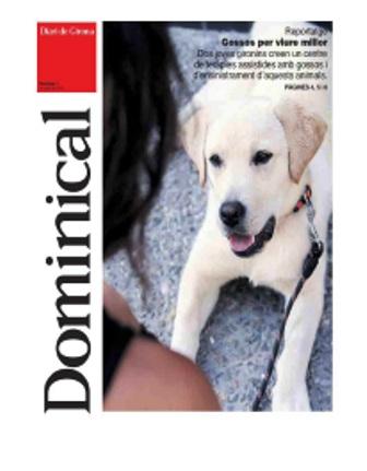 <p>El Diari de Girona publica un dominical sobre las diferentes tareas que lleva a cabo CTAC Girona</p>
