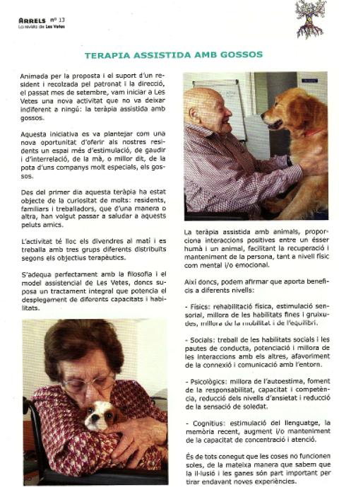 Revista Arrels, Les Vetes